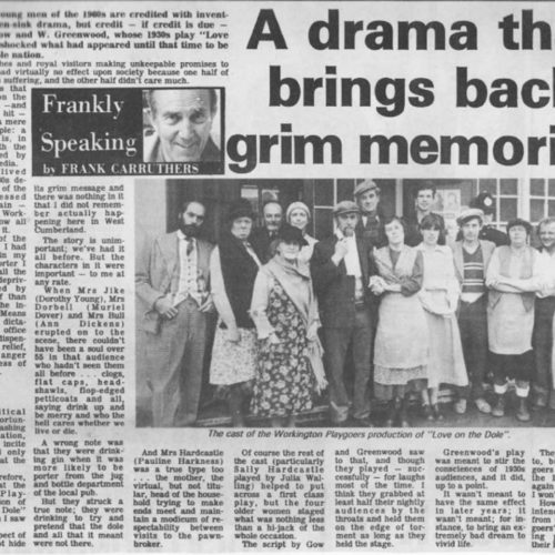 Article By Frank Carruthers