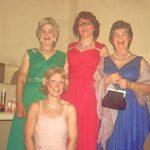 Standing: Marjorie Hool, Barbara Singleton And Olga Claxton With Jenni Rushton