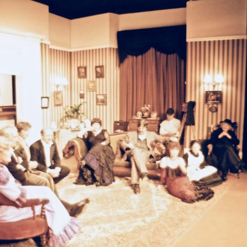 The Set And The Cast Relaxing!
