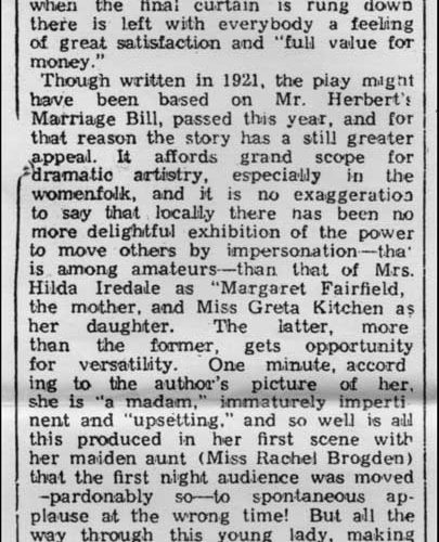 Review-Times And Star-4th December 1937