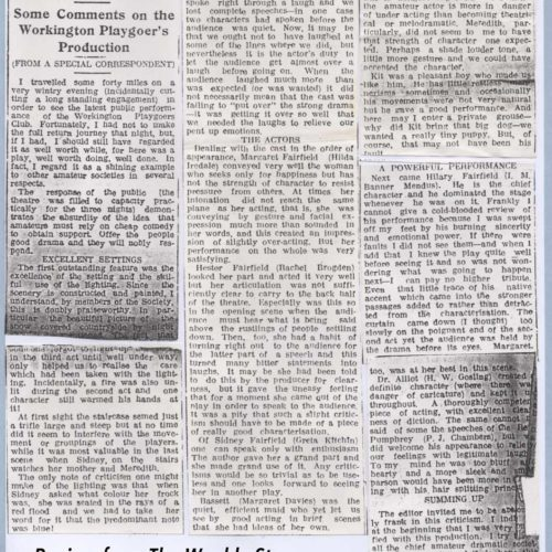 Review-Times And Star 4th December 1937