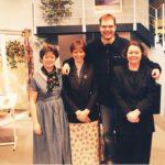 L/R Marlene Johnstone, Jane Douglas, Ben Brinicombe And LIz Chapman