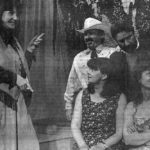 Rosey Lucchini As Bonny Lee, Billy's Manager Talks To Dave Aspen As Billy Shake , Eddie Parsons As Dan Howard, Liz Chapman As Lara Ferris And Carol Jamieson As Mira
