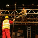 Special Scaffolding Was Erected For The Set.