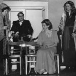 L/R Barbara Singleton (Beatrice Lacy), Jim Howson, The Estate Manager (Frank Crawley), Mrs De Winter (Jane Douglas) And Geoffrey Hall (Major Giles Lacy)