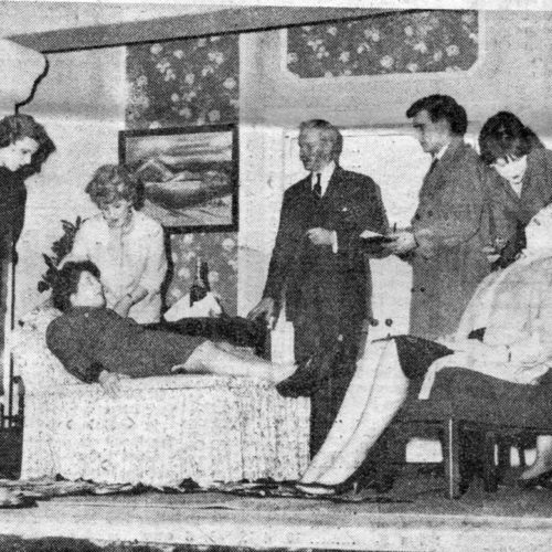 Panic Stations As Beatrice And Miss Hatfield Faint With Shock