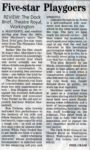 Review By Phil Cram For The Times And Star