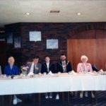 Top Table: L/R Michael Shipley, Grace Elliot, Geoff Hool, Mayor & Mayoress Of Workington Tony Cunningham (Mayor Of Workington), Marjorie Hool, Peggy Childs
