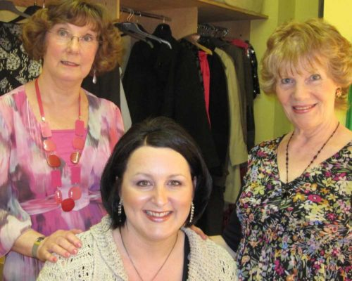 Cast- Jenni Rushton, Karen Thompson And Janet Whitehead