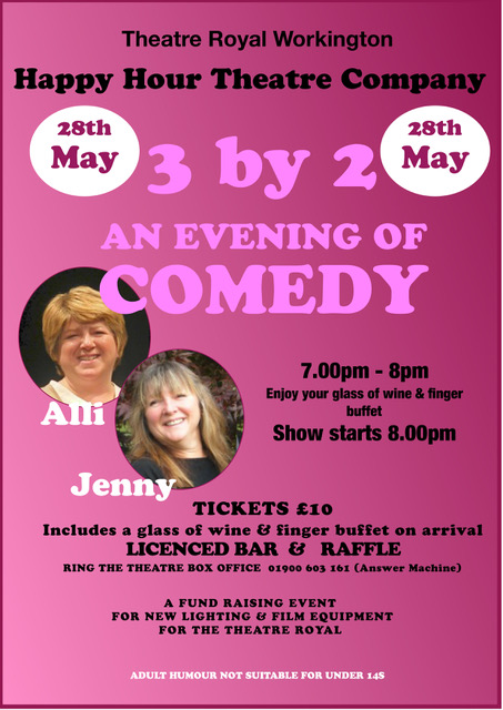3 by 2 An Evening of Comedy with Alli and Jenny