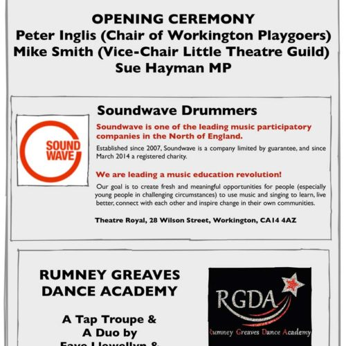 Grand Opening Programme