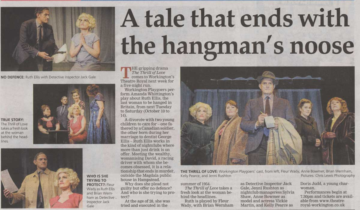 Times and Star Preview Friday 6th October