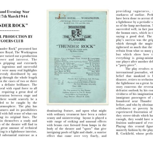 Cumberland Evening Star Review 1944