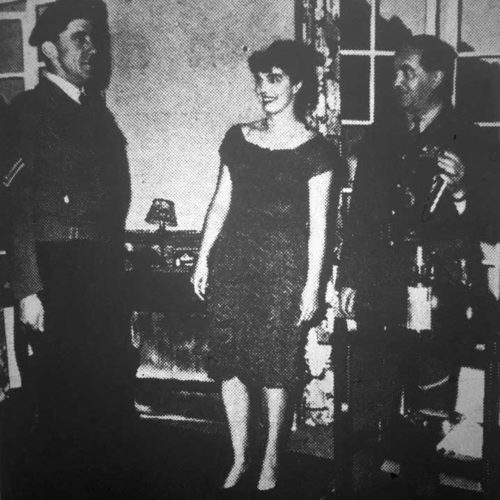 Corporal Sidney Green (I.McKnight Bell) Is Caught Improperly Dressed By The General And Lady Fitzadam