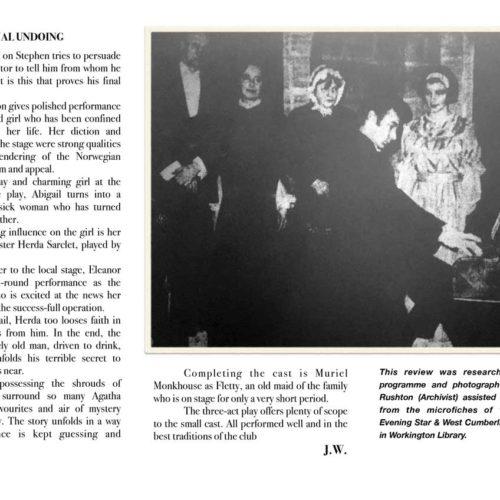 Cumberland Evening Star Review Friday 26th November 1965