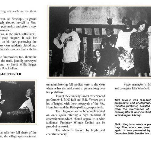 Cumberland Evening Star Review Thursday 1st October 1964