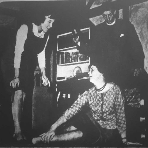 Another Unfortunate Accident As Mrs Toop (Irene Newton) Hurts Her Ankle, To The Consternation Of Ida (Marjorie Bell) And The Vicar (Ron Dickens)