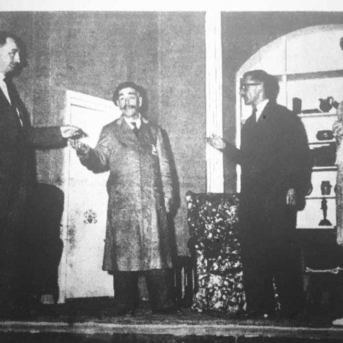F. H. Yates, Tony Murray, Ivor Newton And Marjorie Hool